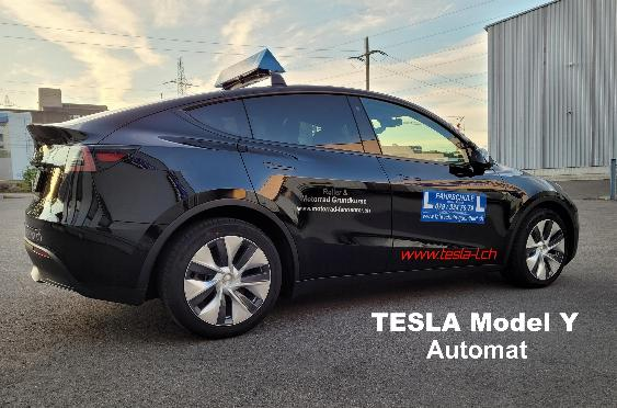 Tesla Model Y Fahrschulfahrzeug Automat